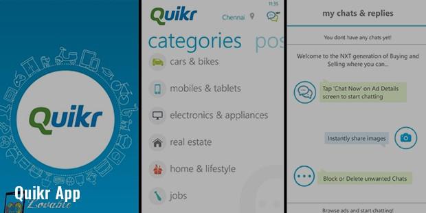 quikr app