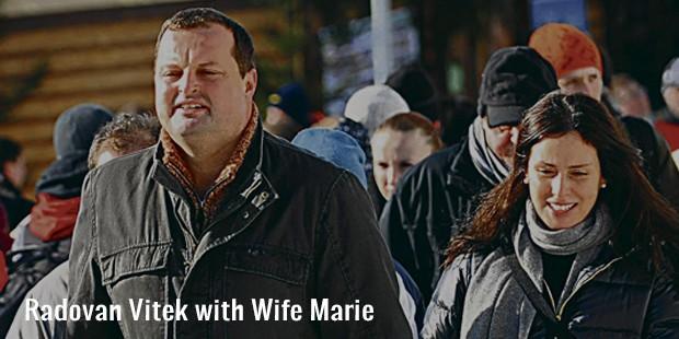 radovan vitek with wife marie