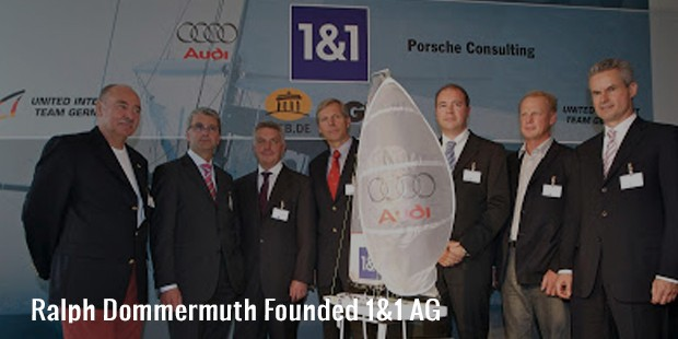 ralph dommermuth founded 1 1 ag