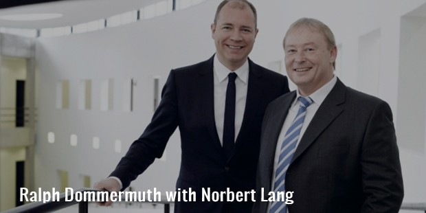 ralph dommermuth with norbert lang