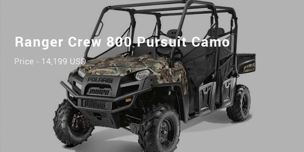Ranger Crew 800 Pursuit Camo