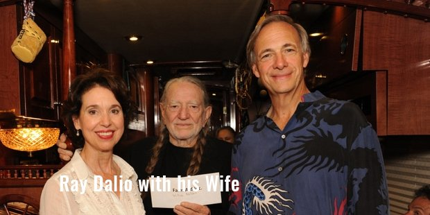 ray dalio with his wife