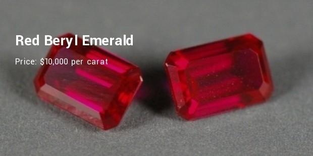 red beryl emerald