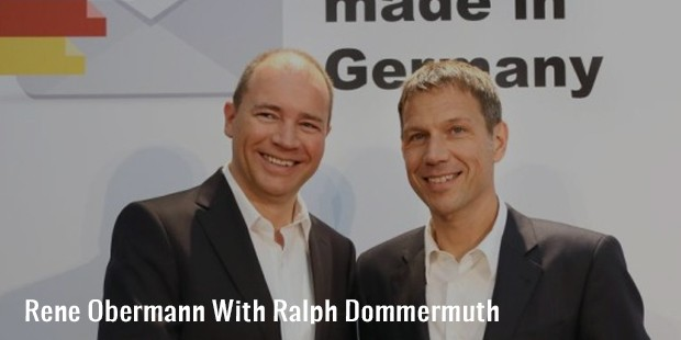 rene obermann with ralph dommermuth