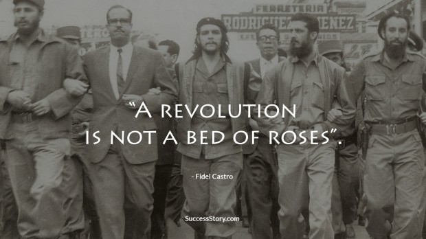 revolution quote of castro