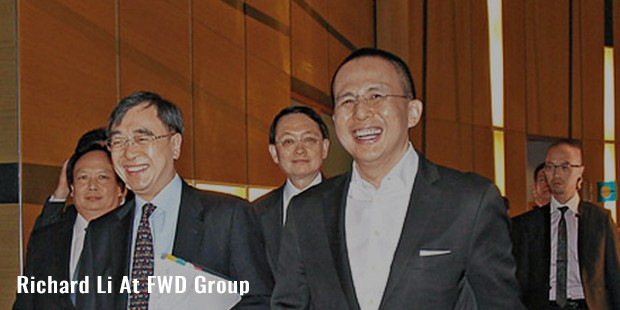 richard li at fwd group