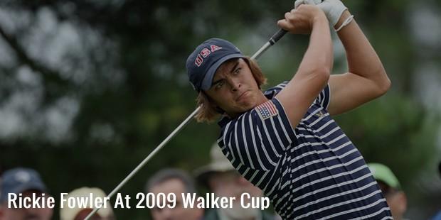 rickie fowler at 2009 walker cup