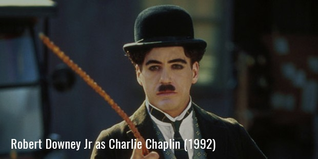 Robert Downey Jr in Chaplin (1992)