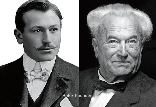 rolex founders