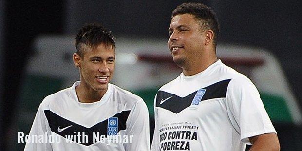 ronaldo with neymar