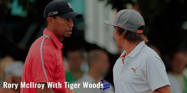 rory mcilroy with tiger woods