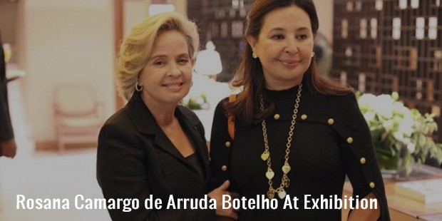 rosana camargo de arruda botelho at exhibition