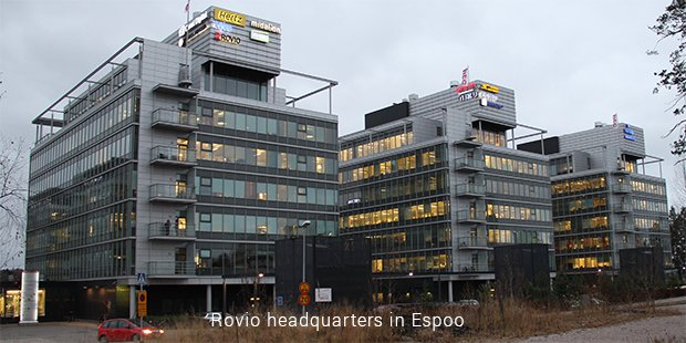 rovio headquarters in espoo