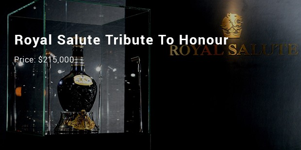 royal salute tribute to honour