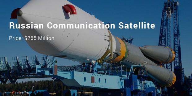 russian communication satellite