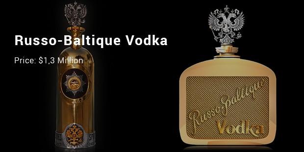 russo baltique vodka