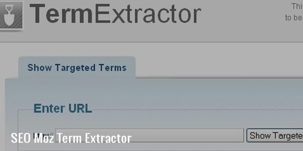 seo moz term extractor