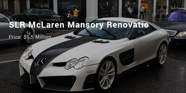 slr mclaren mansory renovatio