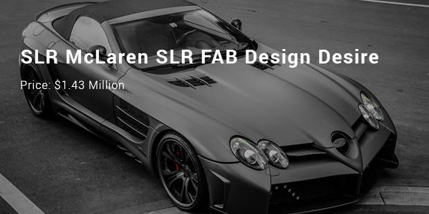 slr mclaren slr fab design desire