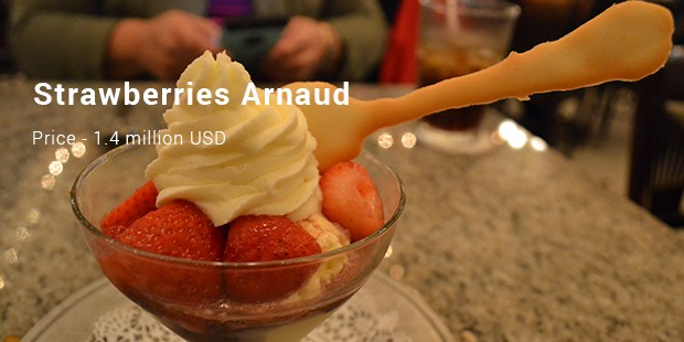 Strawberries Arnaud