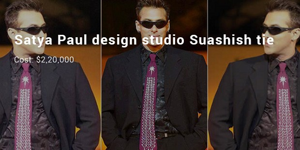 satya paul design studio suashish tie