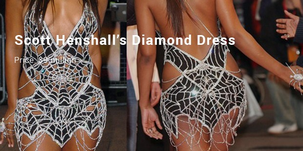 scott henshall's diamond dress