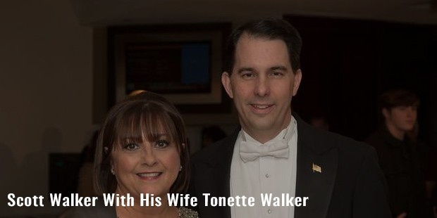 scott walker with his wife tonette walker