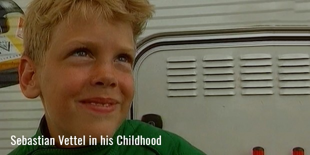 sebastian vettel in his childhood