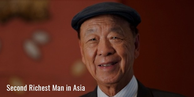 second richest man in asia
