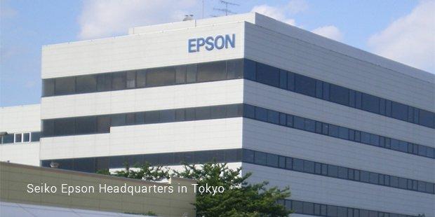 seiko epson headquarters in tokyo