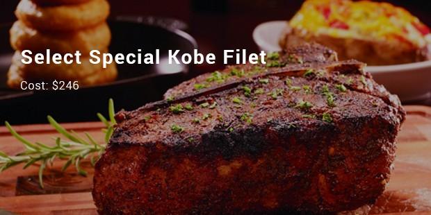 select special kobe filet