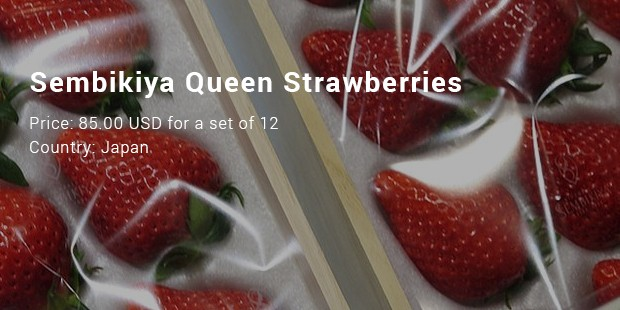 sembikiya queen strawberries