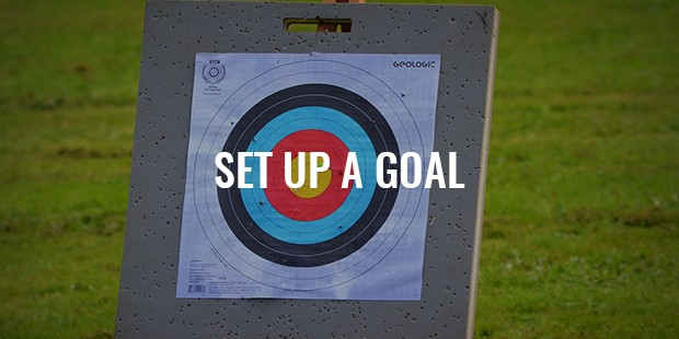 A small goal must be set