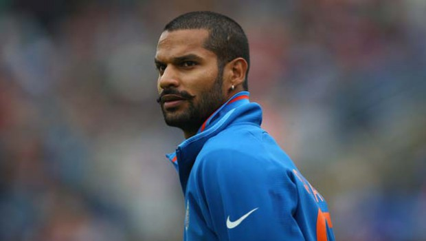 shikhar dhawan early career