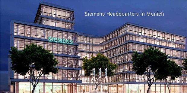 siemens headquarters in munich