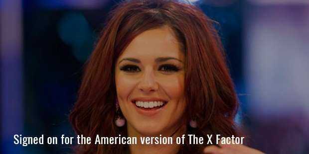 signed on for the american version of the x factor 2