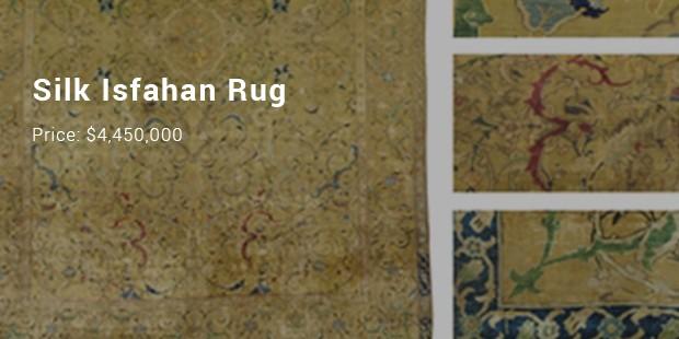silk isfahan rug