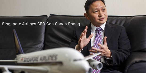 singapore airlines ceo goh choon phong