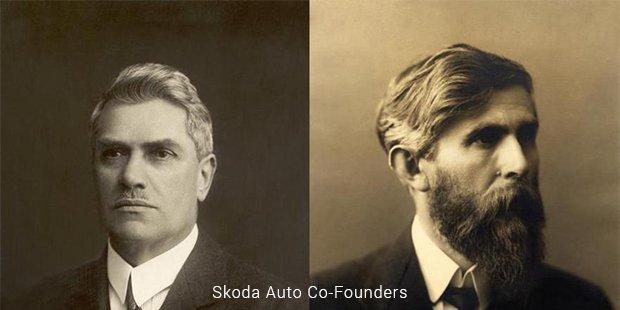skoda auto co founder