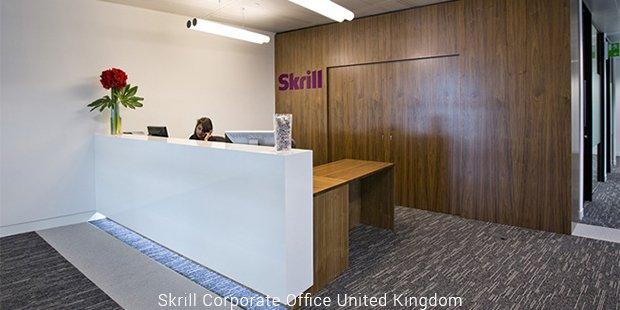 skrill corporate office