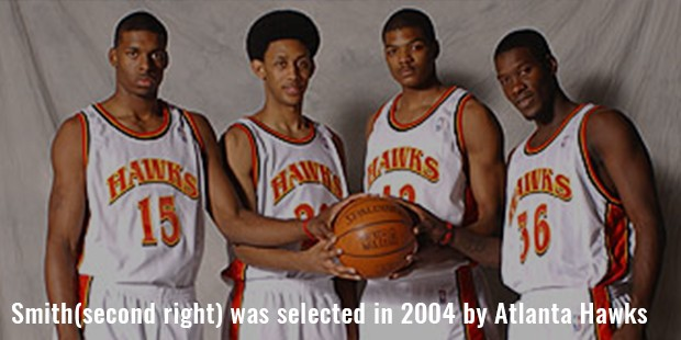 smith second right  was selected in 2004 by atlanta hawks