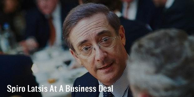 spiro latsis at a business deal