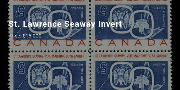 7 Most Expensive Priced Canadian Stamps List