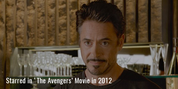 Starred in the 'The Avengers' Movie in 2012
