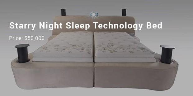 starry night sleep technology bed