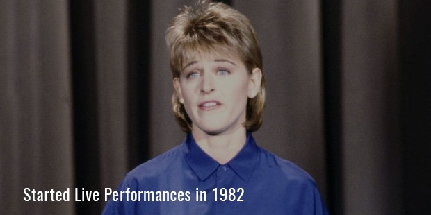 Started Live Performances in 1982