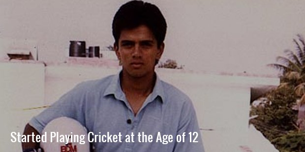 started playing cricket at the age of 12