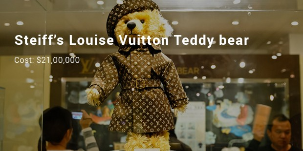 steiff's louise vuitton teddy bear