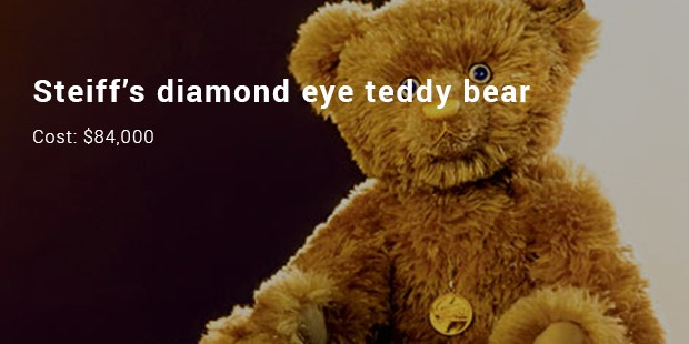 steiff's diamond eye teddy bear