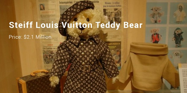 steiff louis vuitton teddy bear